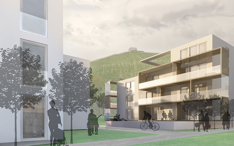 Groundbreaking: Housing building Pflegergründe