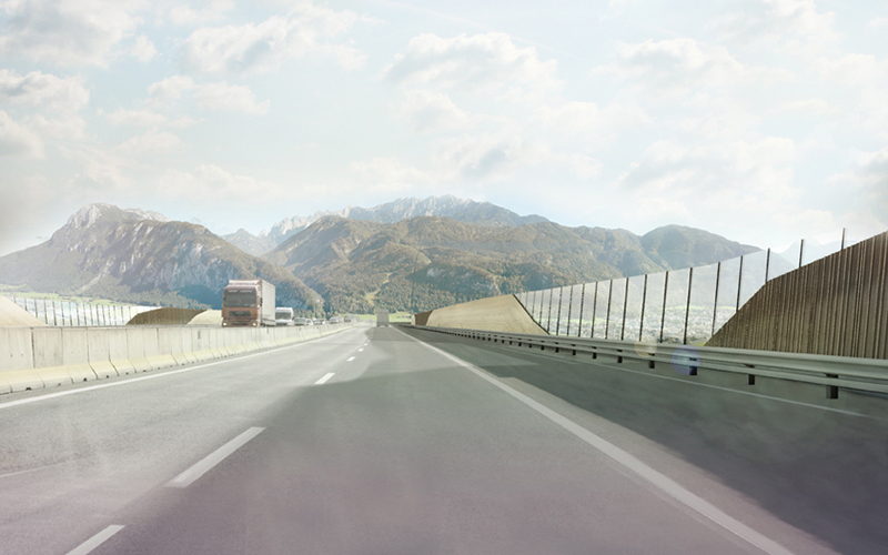 2nd Prize: A12 Inntal motorway