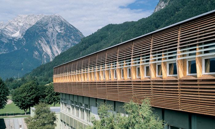 BG/BRG Stainach: Überblick © Bramberger [architects]