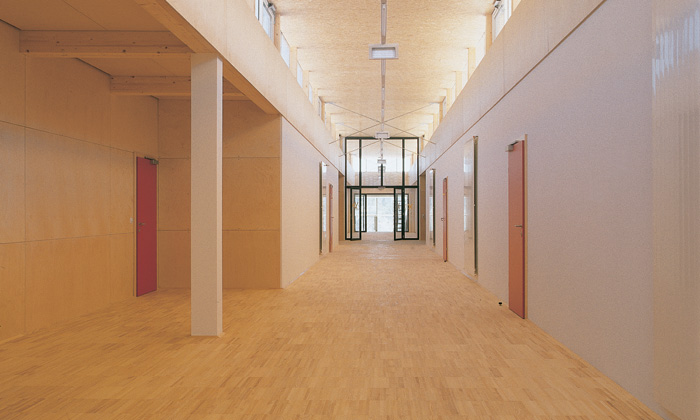BG/BRG Stainach: Interior view © Bramberger [architects]