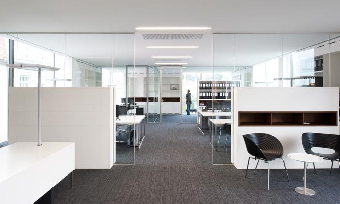 Das Bauwerk: Büro ©