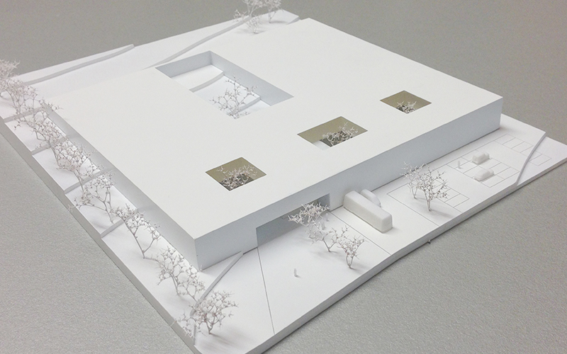 Die Schatzkiste Tirols: Model © Bramberger [architects]