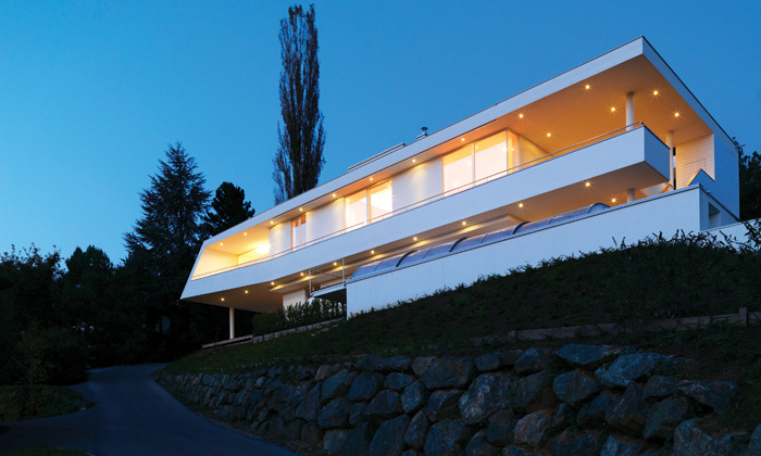 Einfamilienhaus Lienhart: Überblick © Paul Ott
