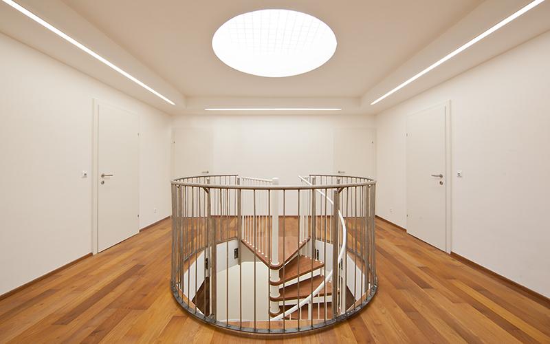 Elisabethinen: Staircase © Lukas Moder