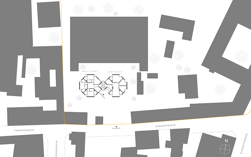 Elisabethinen: Site plan ©