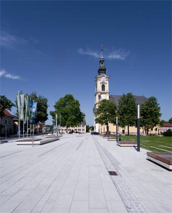 Marktplatz Wies:  © Schnabl