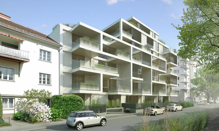 Mehrfamilienwohnhaus Muchargasse:  ©