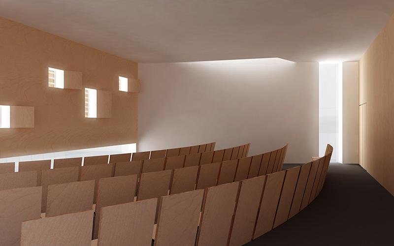 Pfarrheimzubau Kleinraming: Interior(1) ©
