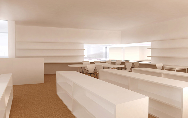 Pfarrheimzubau Kleinraming: Interior(2) ©