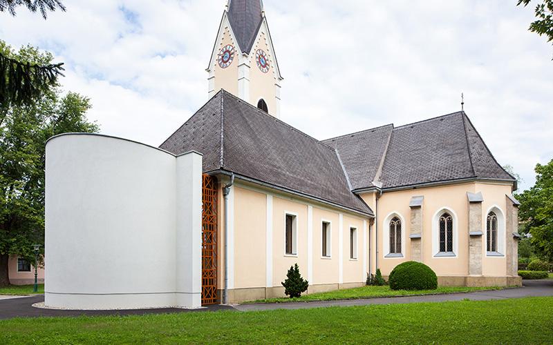 Pfarrkirche Paldau: Exterior view © Markus Kaiser