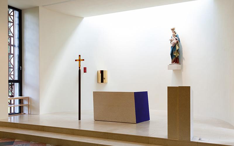Pfarrkirche Paldau: Interior view © Markus Kaiser