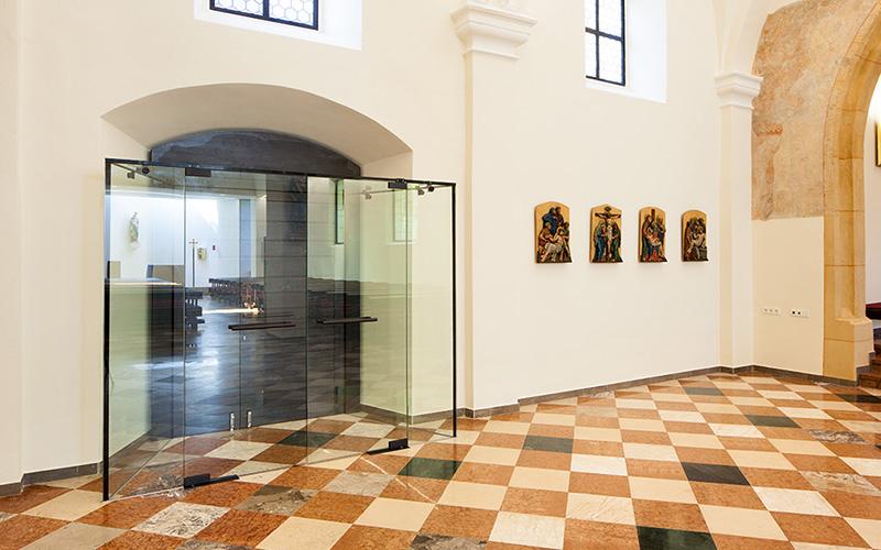 Pfarrkirche Paldau: Entrance hall © Markus Kaiser