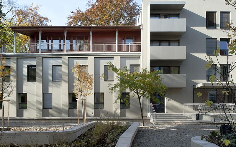 Quartier Leech: East Facade © Helmut Tezak