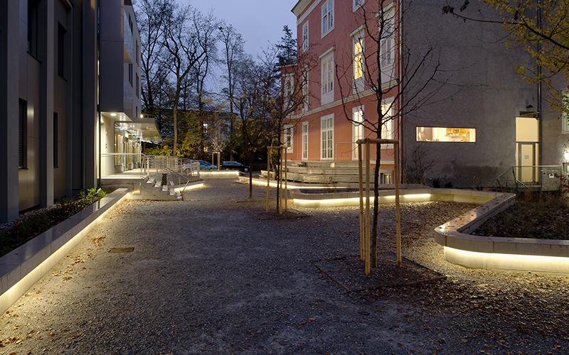 Quartier Leech: Interior courtyard © Helmut Tezak