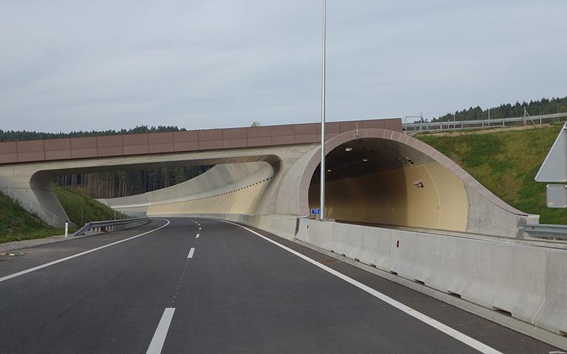 S10 Mühlviertler Schnellstraße: Tunnelportal ©