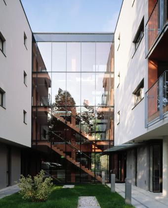 WIST Studentenwohnheim Leoben: Ansicht ©