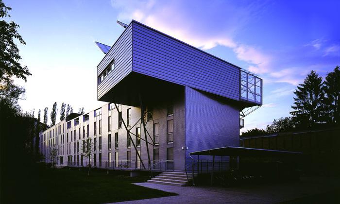 WIST Studentenwohnheim Moserhofgasse: Ansicht ©